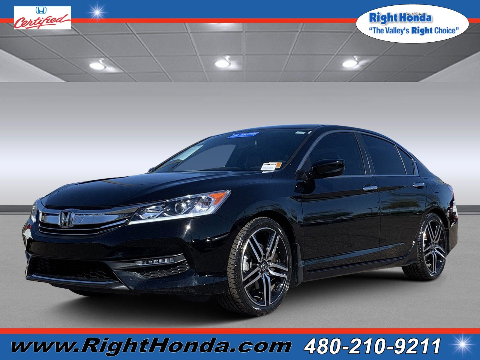 Certified Pre Owned 2016 Honda Accord Sport