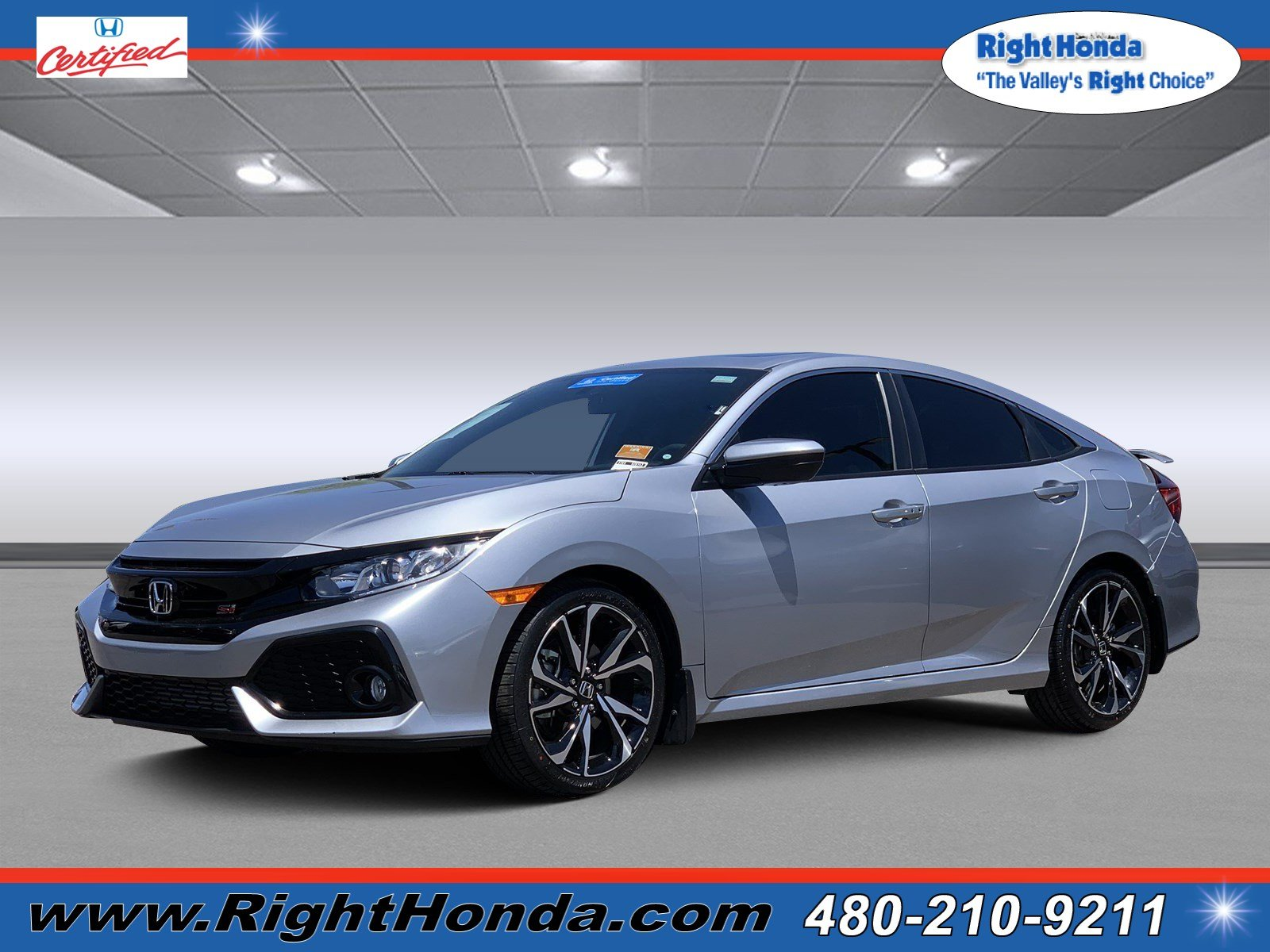 Certified Pre Owned 2017 Honda Civic Si