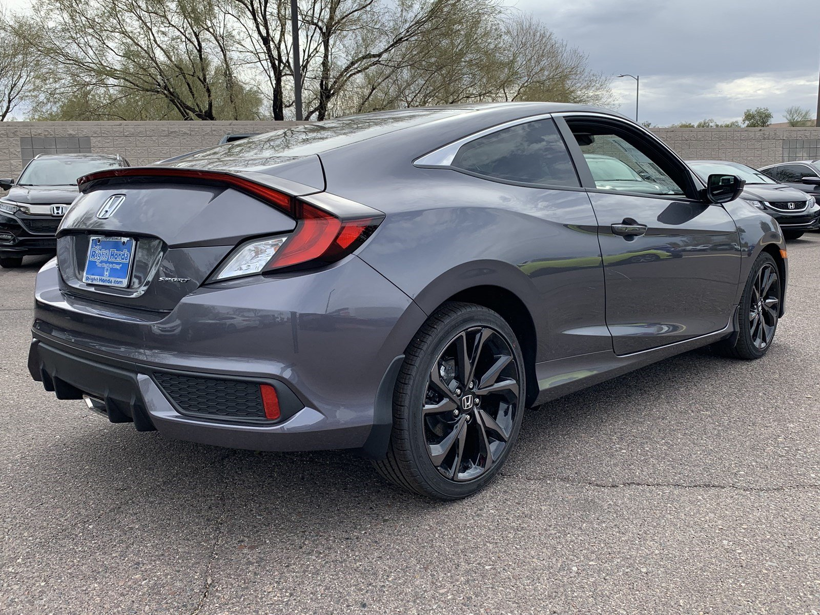 New 2019 Honda Civic Coupe Sport 2dr Car In Scottsdale 00190718