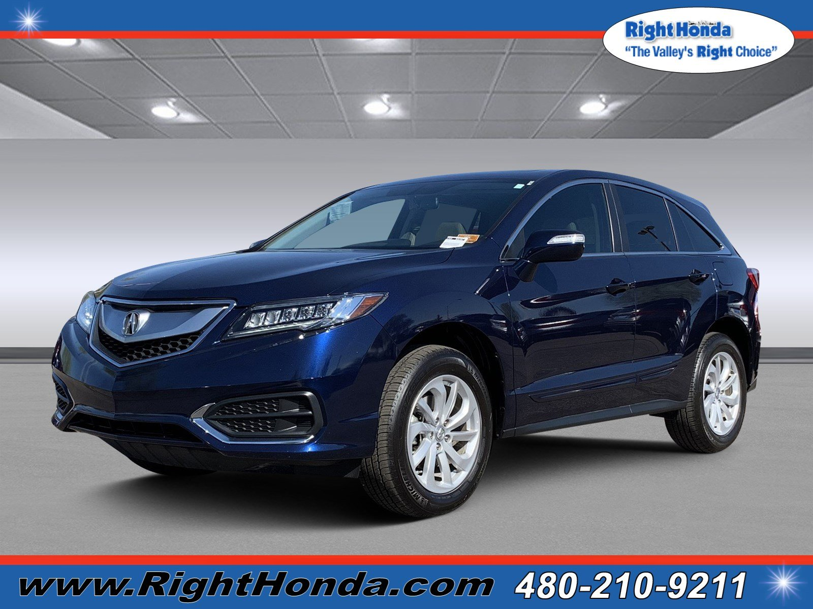 Pre Owned 2017 Acura RDX w Technology Pkg Sport Utility in