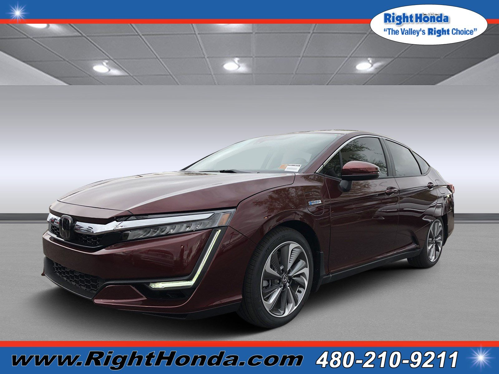 New 2018 Honda Clarity Plug In Hybrid Base