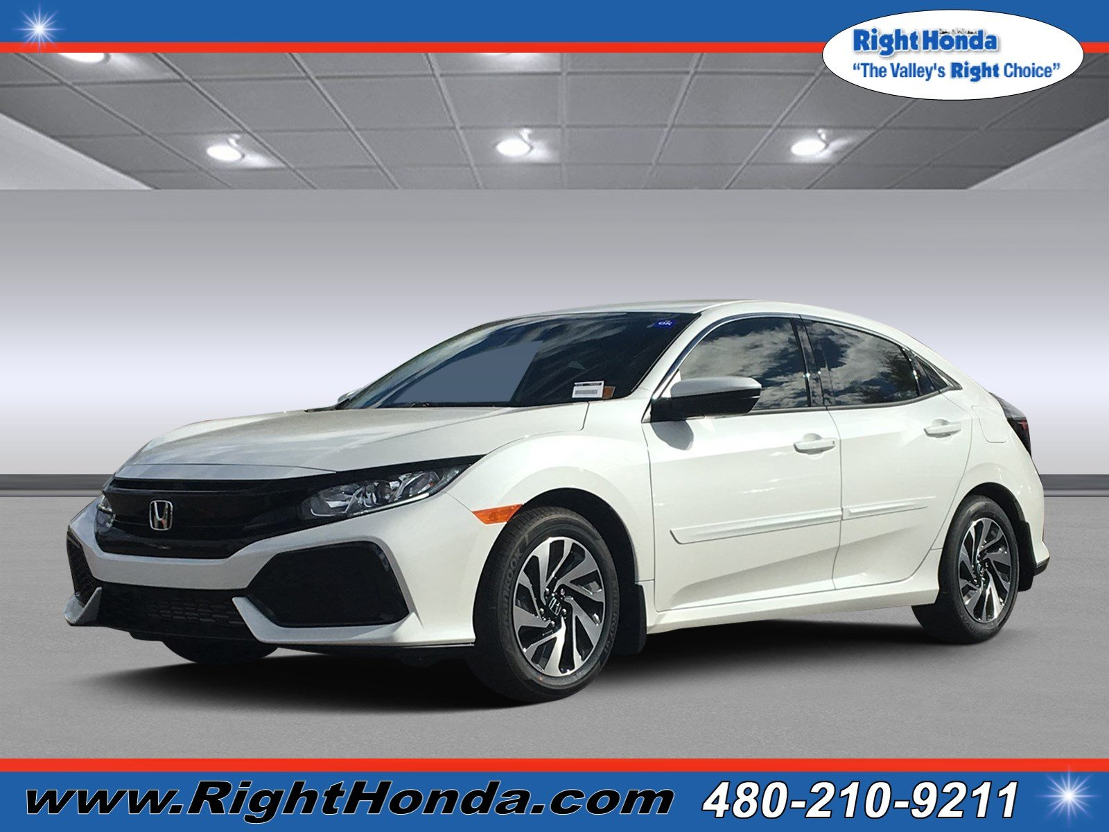 Honda Civic New >> New 2019 Honda Civic Hatchback Lx Fwd Hatchback