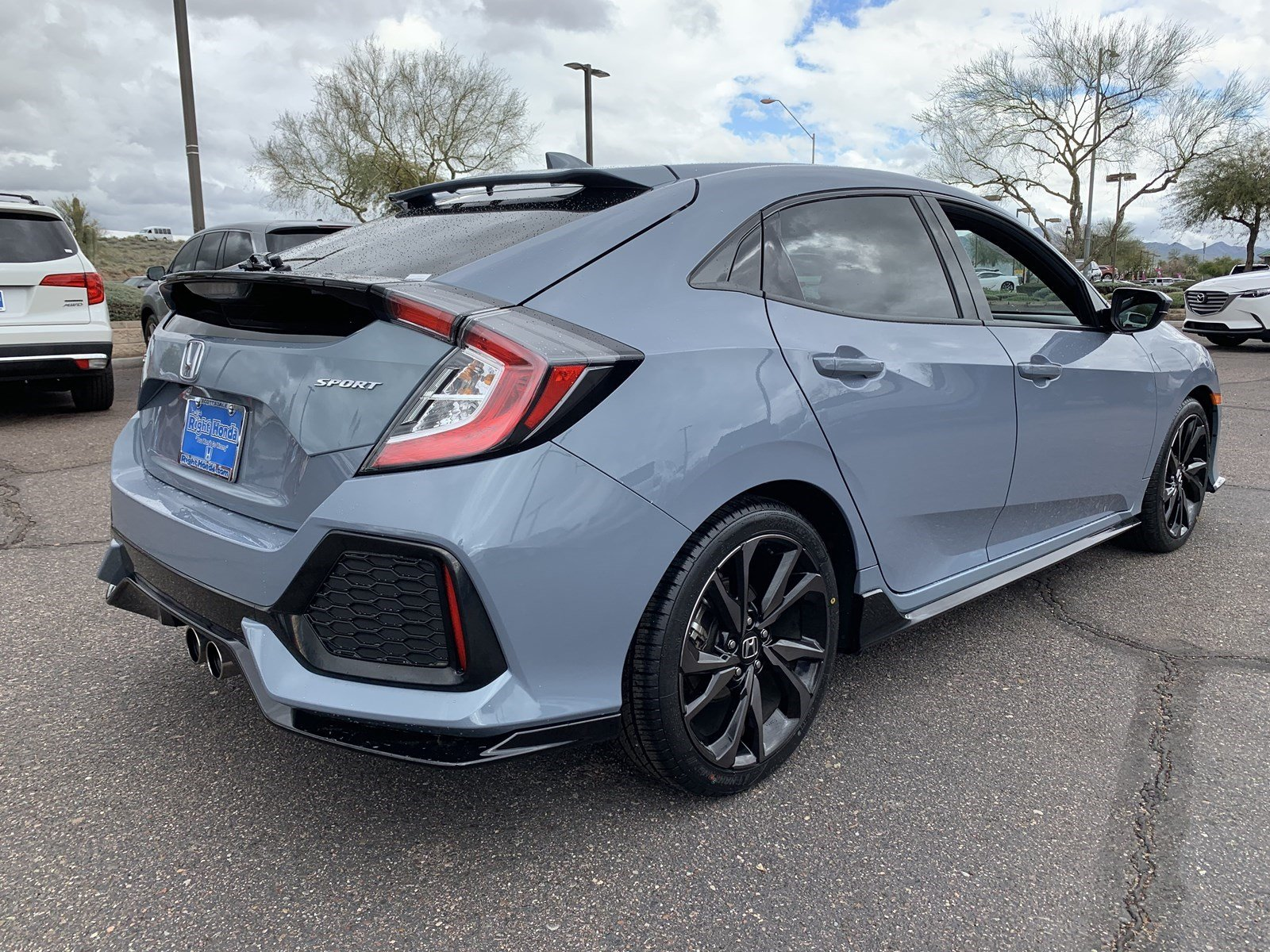 Certified Pre-Owned 2017 Honda Civic Hatchback Sport