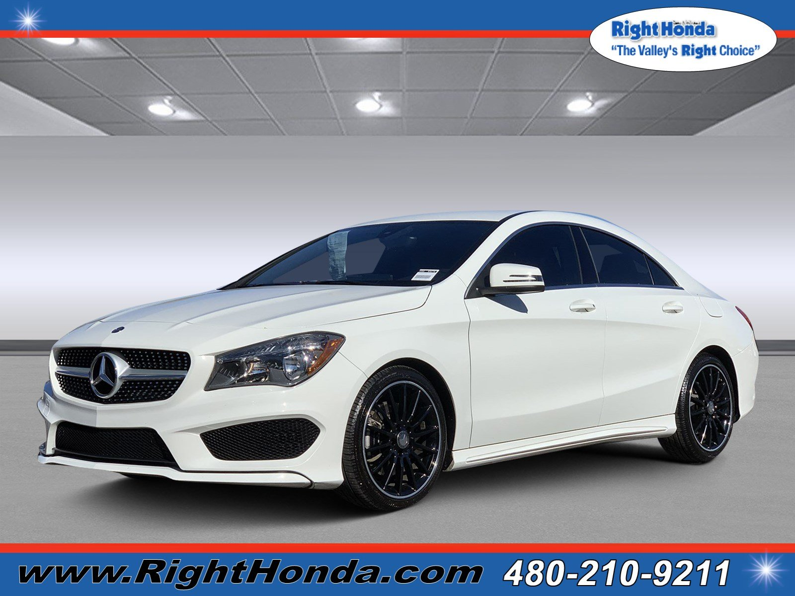 Pre Owned 2015 Mercedes Benz CLA CLA 250 Coupe in Scottsdale