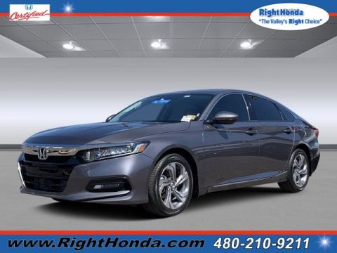 Certified Pre-Owned 2018 Honda Accord EX-L